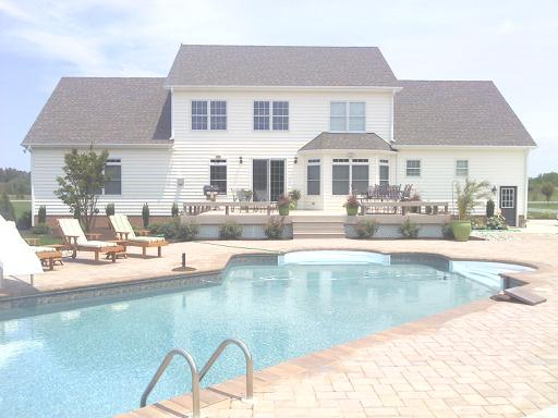 Rear and Pool